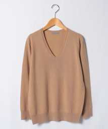 Theory Luxe/Vネックニット FINE.CASHMERE/WALD/500534495