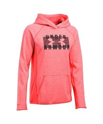 UNDER ARMOUR/アンダーアーマー/レディス/UA ARMOUR FLEECE BL HOODY TIWST/500593033
