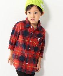 coen/【coen キッズ / ジュニア】タータンネルチェックシャツ(100~150cm)/500584351