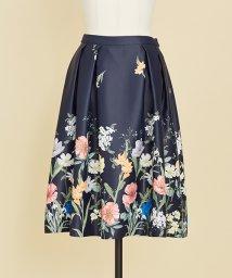 Noela/オリジナルパネルフラワー柄スカート/500591236