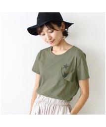 MODE ROBE/スターポケットTシャツ/500593678