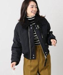 IENA/JANE SMITH ボアミリタリージャケット/500595941
