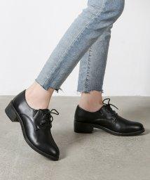 Shoes in Closet/シンプルレースアップローファー/500573318