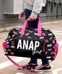 ANAP GiRL/リップ総柄ボストンBAG/500585253