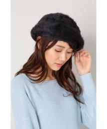 NATURAL BEAUTY BASIC/フラッフィーアンゴラベレー帽/500597346