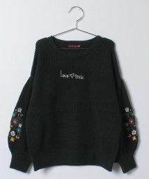 Lovetoxic/花柄刺しゅうニット/500589658