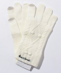 Lovetoxic/ケーブル編みスマホ手袋/500589667