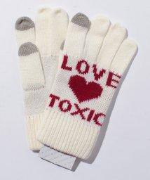 Lovetoxic/ロゴ&ハート柄スマホ手袋/500589668