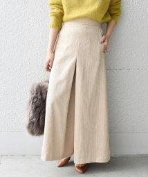 Khaju/《予約》Khaju:コーデュロイスカートスタイルパンツ/500598853