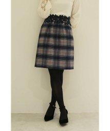 PROPORTION BODY DRESSING/レディチェックウエストレースタイトスカート/500598989
