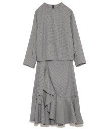 Mila Owen/ラッフル巻きスカートセットアップ/500599586