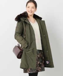 IENA/WOOLRICH WS ボウブリッジコート(カーキ)/500600339