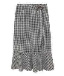 Mila Owen/リングデザインラッフルスカート/500601015