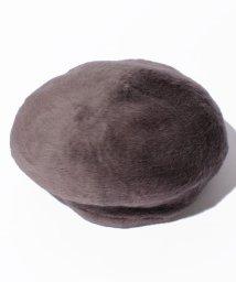 ELLE/フェイクファーベレー帽/500580586