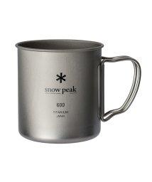 Snow Peak/スノーピーク/チタンシングルマグ 600/500601793