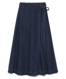 snidel/Leeコラボロングラップスカート/500602336