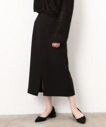 ROPE' mademoiselle/ライトダブルクロスミモレタイトスカート/500603700