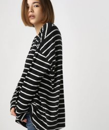 AZUL by moussy/ルーズVネック長袖プルオーバー/500587251
