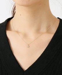 DECOUVERTE/18KYG 0.3ct ダイヤモンド Fネックレス/500605289
