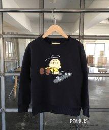 coen/【coen キッズ / ジュニア】(SNOOPY/スヌーピー)スケートスヌーピーフリース(100〜150cm)/500595355