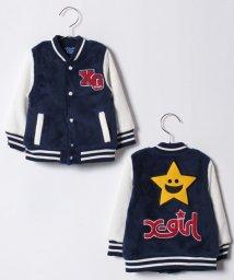 X-girl Stages/キラッキースウェットスタジアムジャンパー/500595920