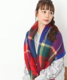 ViS/【sweet12月号掲載】起毛チェック柄ストール/500606260