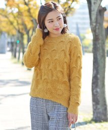 Bou Jeloud/★ショートシャギー編み柄ニットPO/500607153