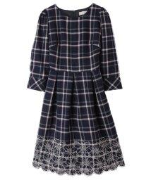 31 Sons de mode/【Ray1月号掲載】裾刺繍タータンワンピース/500607253