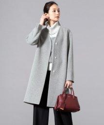 JIYU-KU /【マガジン掲載】カシミヤミックスウール 2WAYコート(検索番号U18)/500609104