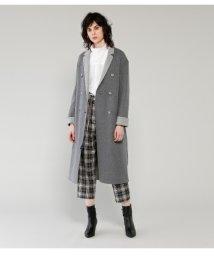 PEGGY LANA/Rever Wool Pencil Coat/500533459