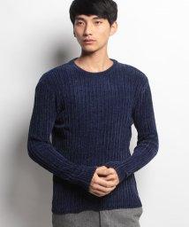 JNSJNM/【BLUE STANDARD】ポリエステルモールクルーセーター/500586004