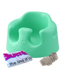 Bumbo/【収納バッグ付き】床置き専用 バンボ ベビーソファ 腰ベルト入り/バッグ付 アクア/500588504