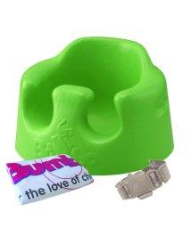 Bumbo/【収納バッグ付き】床置き専用 バンボ ベビーソファ 腰ベルト入り/バッグ付グリーン/500588505