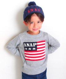 ANAP KIDS/星条旗ニットトップス/500590680
