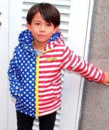 ANAP KIDS/USA国旗柄中綿ジャケット/500590682