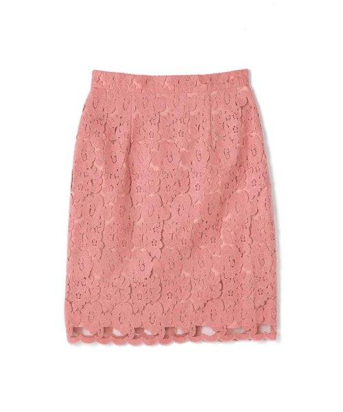 PROPORTION BODY DRESSING(プロポーション ボディドレッシング)/Newブラッシュレースタイトスカート/1217220513
