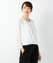 JIYU-KU /【定番・洗える】ロイヤルシフォン カットソー/500611455