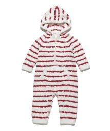 gelato pique Kids&Baby/ボーダーアラン baby ロンパース/500611684