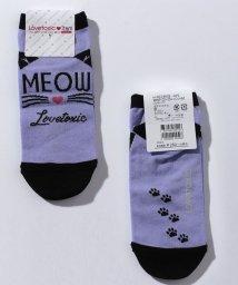 Lovetoxic/猫アンクルソックス/500599653