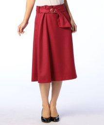 NOLLEY'S sophi/ウールジョーゼットスカート/500603409