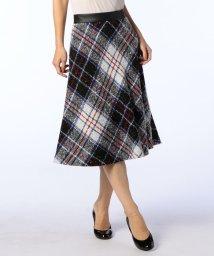 NOLLEY'S/ビックチェックツイードスカート/500603415