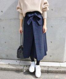 IENA/【CLASSY.12月号掲載】グレンチェックフレアスカート/500612823