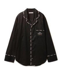 GELATO PIQUE HOMME/【Joel Robuchon & gelato pique】HOMMEコットンサテンストライプシャツ/500612847