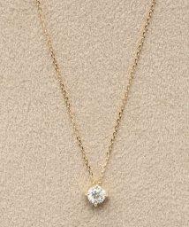 DECOUVERTE/18KYG 0.2ct ダイヤモンド 4tネックレス/500613722