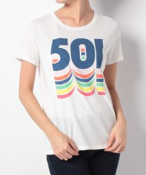 LEVI'S LADY/THE PERFECT TEE BETTER 501 MARSHMALLOW G/500599566