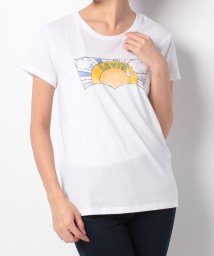LEVI'S LADY/PERFECT GRAPHIC TEE ALCORN BATWING WHITE/500599569