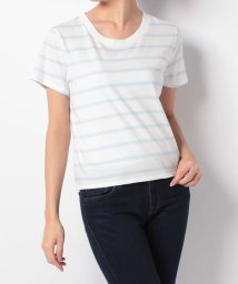 LEVI'S LADY/SURF TEE AVALON WHITE X/OMPHALODES BLUE/500599575