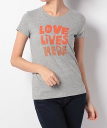LEVI'S LADY/SLIM CREW NECK TEE LOVE LIVES HERE SMOKE/500599578