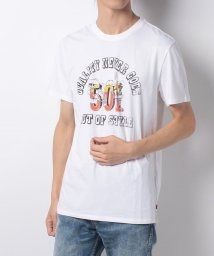 LEVI'S MEN/501(R) GRAPHIC TEE 501 QUALITY WHITE GRA/500599604