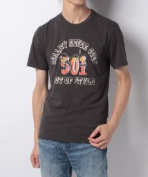 LEVI'S MEN/501(R) GRAPHIC TEE 501 QUALITY PHANTOM G/500599605